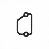 Прокладка кришки регулятора на циліндр Kawasaki 11009-1946 (висока якість)