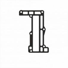 Прокладка перегородки вихлопа Yamaha 6G1-41112-A1-00 (висока якість)